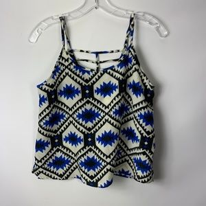 Alythea Small Blouse Blue Tribal Boutique